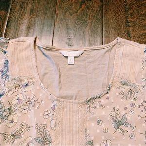 LC Lauren Conrad Tops - Lauren Conrad floral shirt